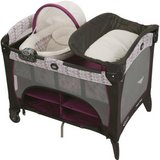 Graco Pack 'n Play Playard with Newborn Napper Deluxe in Fort Bragg, North Carolina