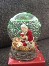 Christmas Snowglobe in Chicago, Illinois