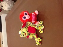 Ty beanie baby or muticolor frog in Lockport, Illinois
