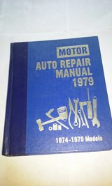 Motor Repair Manual 1974-1979 Models Domestic in Elgin, Illinois