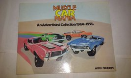 Muscle Car Mania Advertising from 60s-70s c1981 in Elgin, Illinois