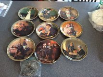 Norman Rockwell collectible plateS in Naperville, Illinois