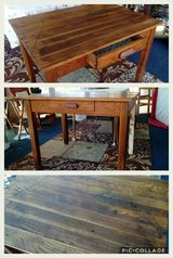 Antique Library Table in Joliet, Illinois