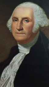 70's George Washington litho in Byron, Georgia