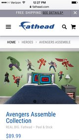 Avengers Assemble Fathead Decor in Clarksville, Tennessee