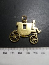 Coach Carriage Charm Tag Logo Keychain Pendant in Naperville, Illinois