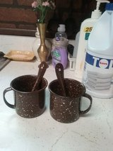 Aluminum Coffee or Tea Cups with Spoons in Belleville, Illinois