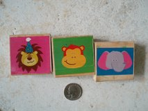 3 animal rubber stamps in Stuttgart, GE