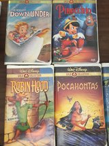 LOT OF 5 GOLD COLLECTION WALT DISNEY VHS MOVIES in 29 Palms, California