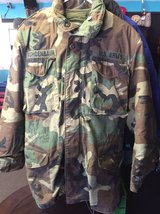 cea9f9c7695c USMC BDU Woodland Camo Cold Weather Field Coat WITH LINER in 29 Palms