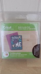 New!  Cricut Simple Everyday Cards Cartridge in Naperville, Illinois