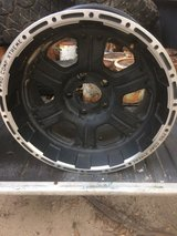 "Chevy rims 5 lug, 17"" set of 4 in Fort Polk, Louisiana"