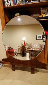 Antique vanity mirror in Naperville, Illinois