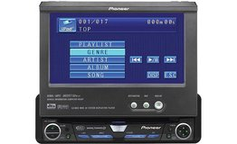 Pioneer Touch Screen DVD Player Car Radio in Camp Pendleton, California
