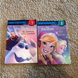2 Frozen Step Into Reading books in Naperville, Illinois