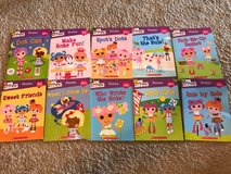 lot of 10 Lalaloopsy phonics books in Naperville, Illinois