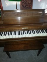 "Baldwin acrosonic 36"" Spinet piano serial # 845124 in Oswego, Illinois"