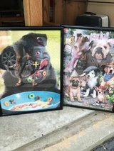 Framed Pug puzzle picture in Warner Robins, Georgia