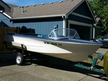 1968 16ft Fiberform Boat with 65HP Merc Crusier Outboard & Holsclaw Trailer in Fort Lewis, Washington