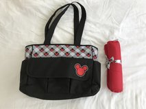 Micky Mouse Diaper Bag W/ Changing Pad in Okinawa, Japan