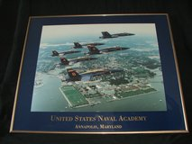 Blue Angels United States Naval Academy Framed Print in Aurora, Illinois