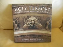 Holy Terrors: Gargoyles on Medieval Buildings Hardcover Book in Naperville, Illinois