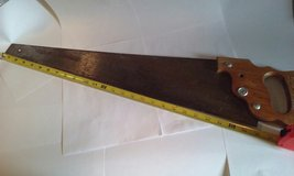 "Antique Stanley brand 26"" Hand Saw in Elgin, Illinois"