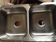 Double Bowl Undermount Stainless Steel Sink in Travis AFB, California