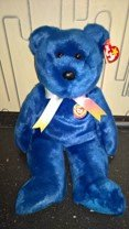 The Beanie Buddies Collection CLUBBY Year 1999 in Ramstein, Germany