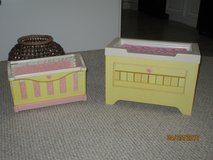 Rose Petal Cottage cradle & changing table in Wilmington, North Carolina