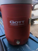 Gott drinking water cooler in Byron, Georgia