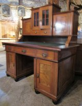 Fine Antique Desk with Bookshelf in Ramstein, Germany