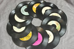 45 RPM Records to Make a Wreath or Something Else in Kingwood, Texas