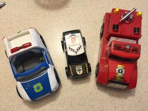 Fire truck & Police cars with sounds in Camp Lejeune, North Carolina