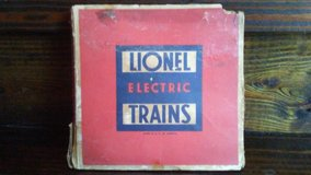 Vintage Lionel train crossing # 1020 in Cleveland, Texas