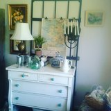 Dresser with turquoise knobs in Alamogordo, New Mexico