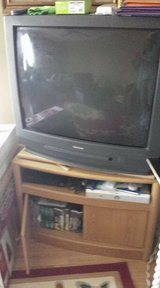 "36"" Toshiba TV & Cabinet in Fort Campbell, Kentucky"