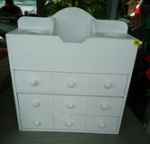 Bathroom/bedroom storage. Holds curling iron and other accessories. in Fort Campbell, Kentucky