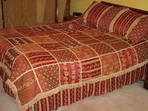 beautiful comforter set-queen sz. in Chicago, Illinois