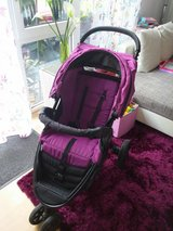 BRITAX B-AGILE STROLLER IN COOL BERRY/BLACK CASSIS in Ramstein, Germany