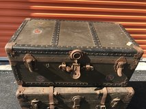 Early 1900's Steamer Trunk All Original in Cherry Point, North Carolina
