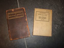WWI and WWII U.S. Army Field Manuals Grouping in Wiesbaden, GE