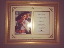 Wedding frame in The Woodlands, Texas