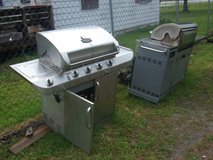 large stainless steel grill for scrap in Camp Lejeune, North Carolina