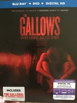 The Gallows - blu-ray in Fort Campbell, Kentucky