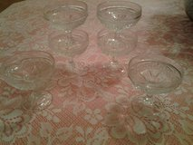 Vintage Cut Glass Sherbet Glasses (price each) in Eglin AFB, Florida