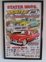 2006 Route 66 Rendezvous Framed Poster in Yucca Valley, California