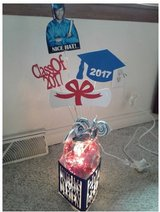 West Aurora HS themed Grad party items in Naperville, Illinois