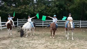 After School Riding Lesson Program Sept 19, 2018 in Fort Campbell, Kentucky