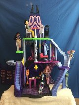 Dollhouse Monster High Freaky Fusion Catacombs Playset in Camp Pendleton, California